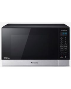 Panasonic 32L 1100W Inverter Sensor Microwave Oven, Stainless Steel Front, Black Body (NN-ST665BQPQ)