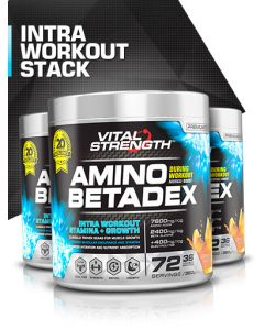 Vital Strength Amino Betadex During Workout Stack 360g