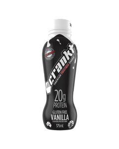 Crankt Protein Shake 375ml - Vanilla - 6pk or 12pk