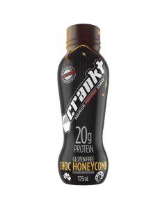 Crankt Protein Shake 375ml - Choc Honeycomb - 6pk or 12pk