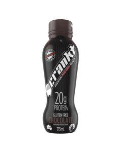 Crankt Protein Shake 375ml - Chocolate - 6pk or 12pk