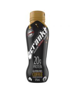 Crankt Protein Shake 375ml - Coffee - 6pk or 12pk