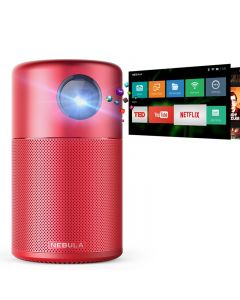 Nebula Capsule Smart Portable Wireless DLP Projector - Red (D4111C91)