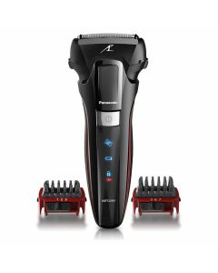 Panasonic 3-in-1 Hybrid Rechargeable 3 Blade Linear 2D Shaver with 2 Comb Attachment (ES-LL41-K541)