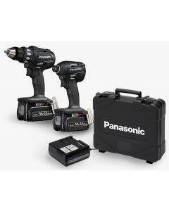 Panasonic 18V/5.0Ah Cordless Drill and Impact Driver Kit (EYC215LJ2G57)