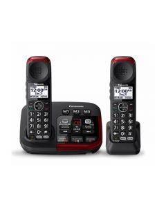 Panasonic Amplified Cordless Telephone with Digital Answering Machine (KX-TGM422AZB)