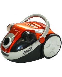 Cleanstar Gravity 2200w Dual Cyclonic Bagless Vacuum Cleaner - Orange (V2200)