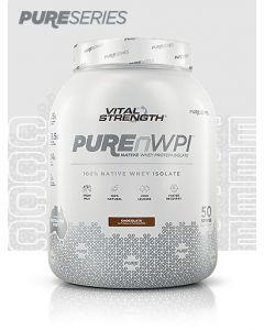 Vital Strength PUREnWPI 100% Native Whey Isolate - Chocolate -1.5kg