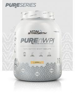 Vital Strength PUREnWPI 100% Native Whey Isolate - Vanilla - 1.5kg