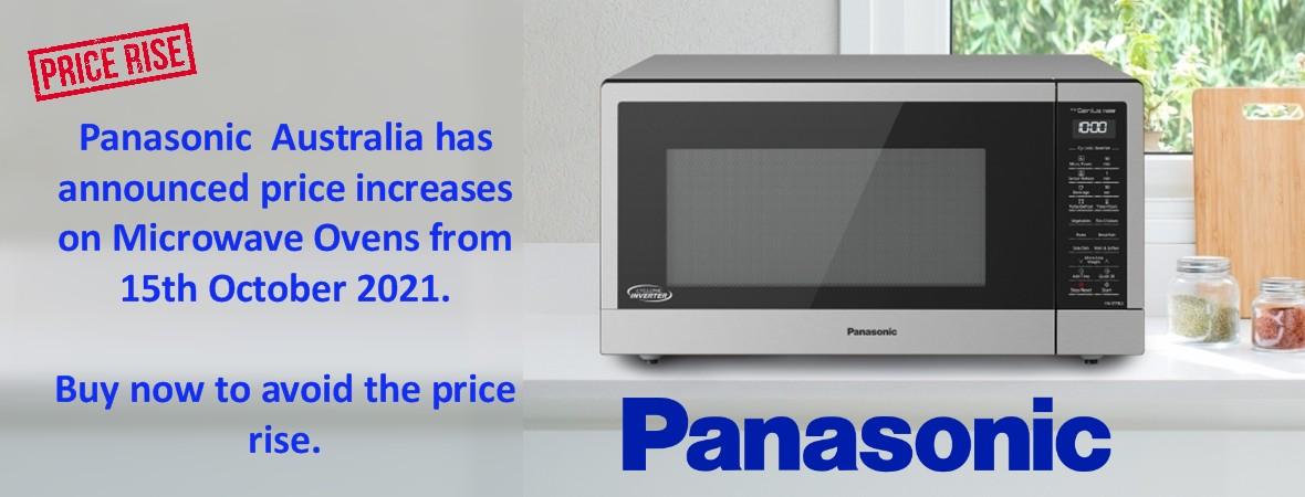 Panasonic Price Rise Oct21